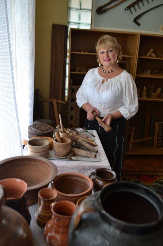 Muzeografa Svetlana PÂNTEA