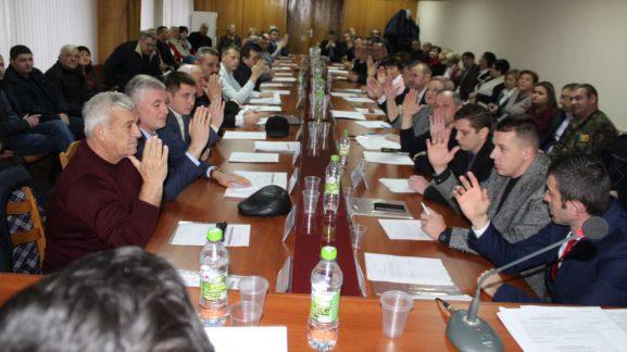 Vot acordat noului preşedinte al raionului Drochia, Alexei VASILEAN, membru al Partidului Socialiştilor din Republica Moldova