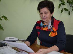 Galina ZAVOROTNÂI, preşedinta CECE nr. 14/1, oraşul Drochia