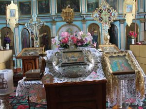 """Vechiul Iconostas de la Biserica """"Sfânta Treime"""" din s. Sofia"""
