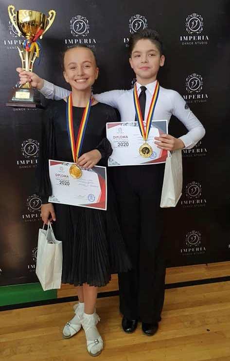 Dublii învingători - Ecaterina VASIN și Vlad CROITORU