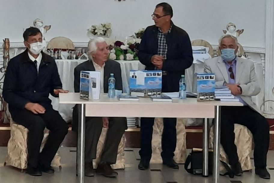 (De la stânga) Petru TURCULEŢ, Vitalie ZAGAIEVSCHI, Dumitru GROSU, Alexandru BOBEICĂ