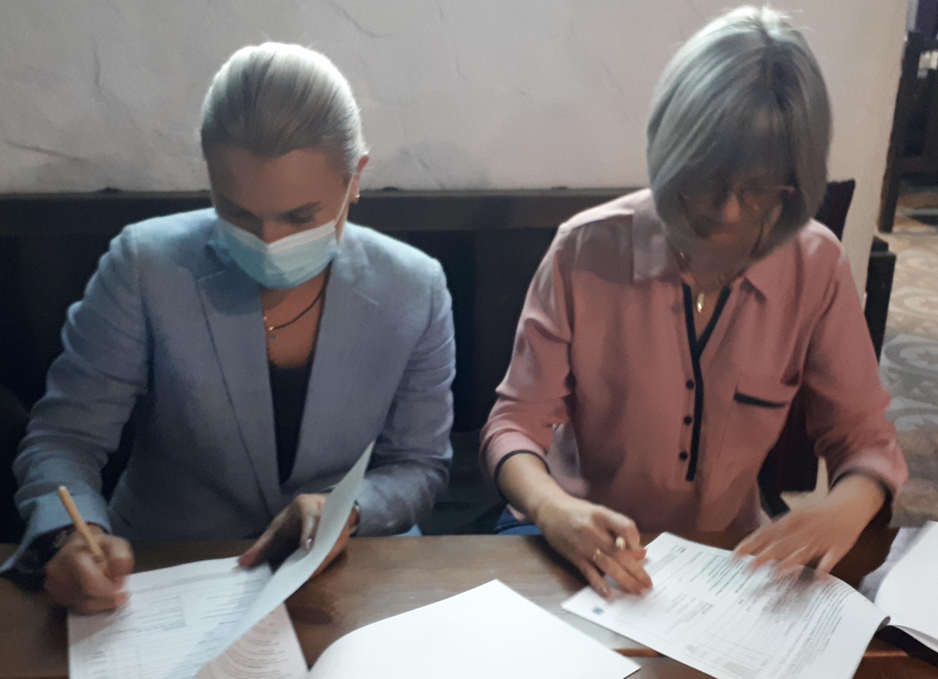 Semnarea acordului